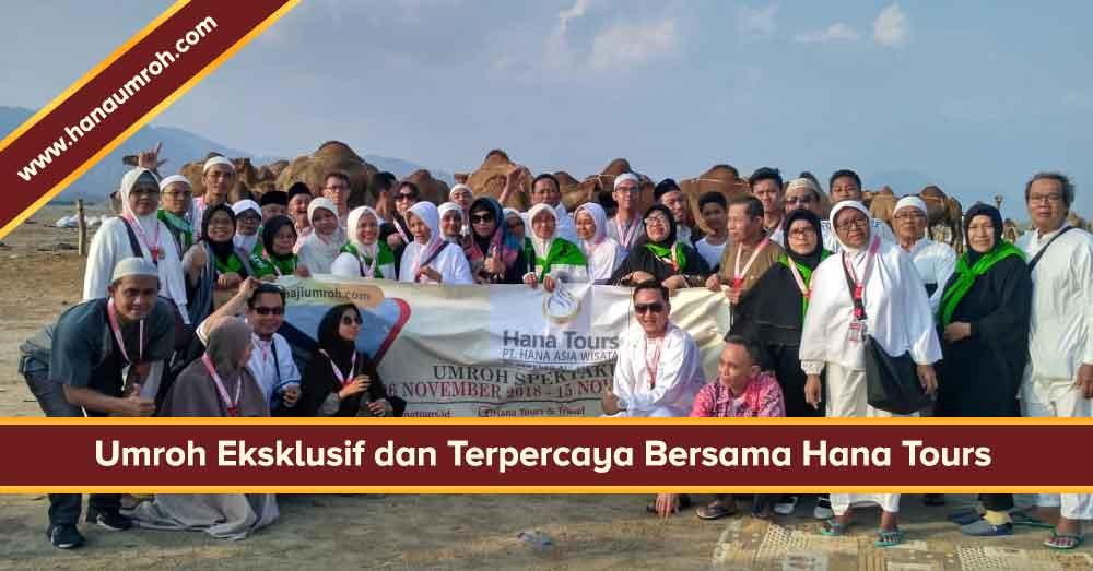 biaya umroh 2018 2019 hana tour